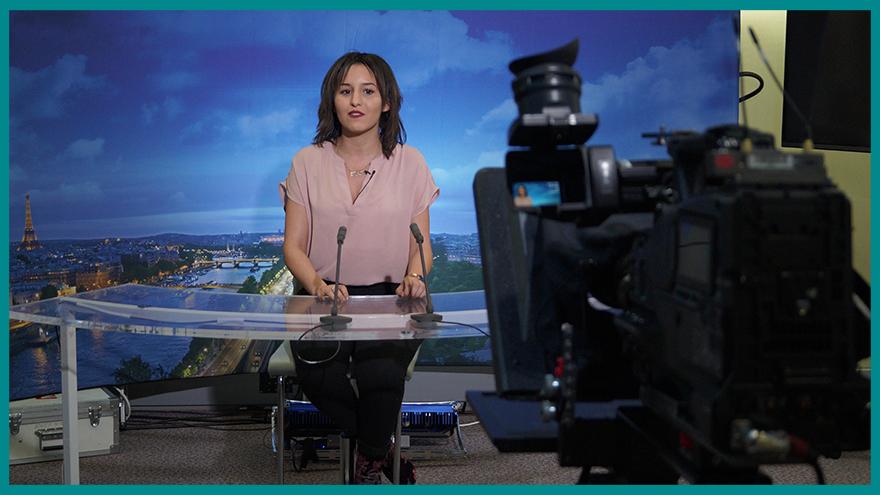 Etudiants École de journalisme EFJ - Assises du journalisme Tours 2018