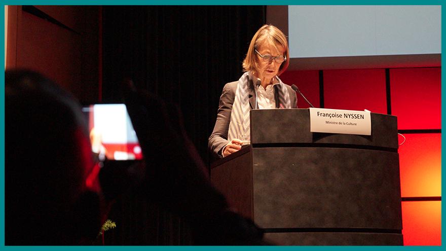 Discours de Françoise Nyssen aux Assises du Journalisme - École de journalisme EFJ