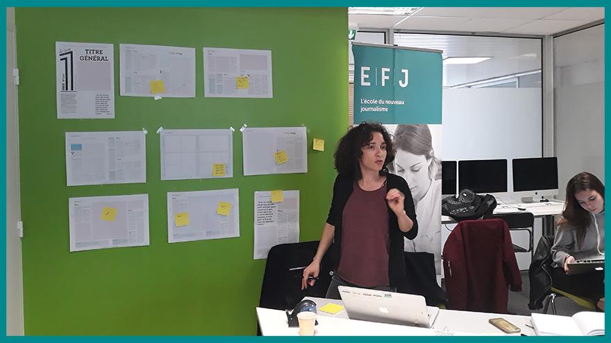 Etudes de Journalismes EFJ - Formation à la création d'un journal papier