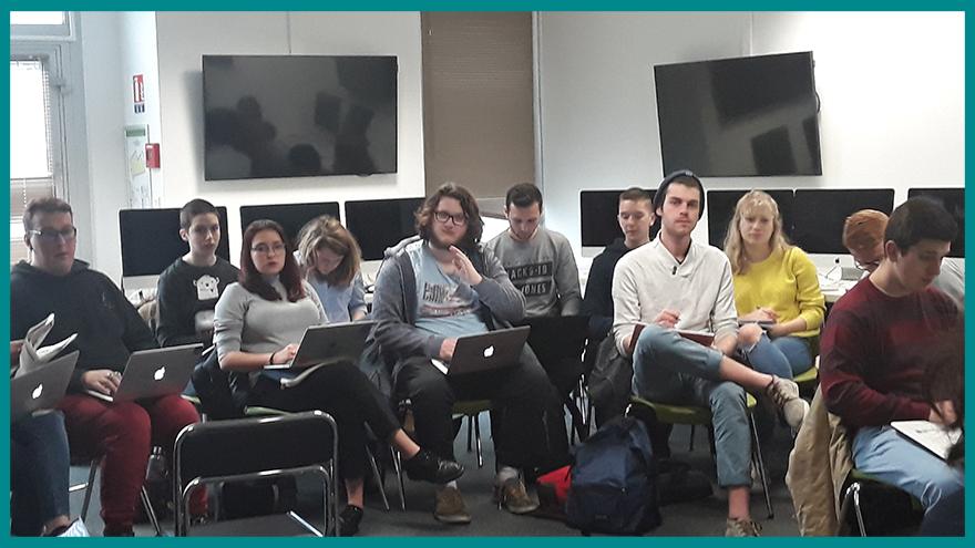 École de journalisme EFJ - Atelier Web to Print