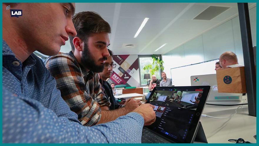 Ecole de journalisme EFJ - Masterclass de l'info avec Damien Van Achter (Davanac)