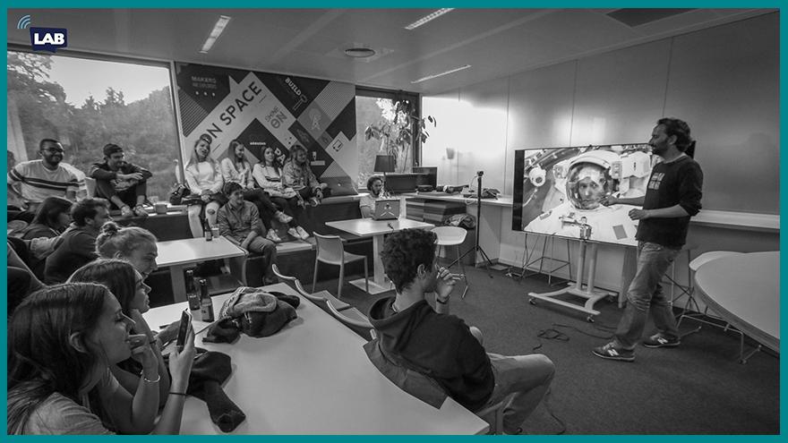 Formation de journalisme EFJ - Masterclass de l'info Lab Davanac en Belgique