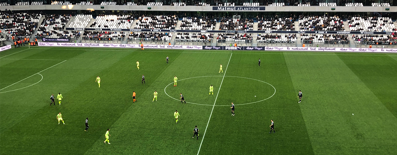EFJ - Devenir journaliste sportif lors d'un match de Girondins de Bordeaux