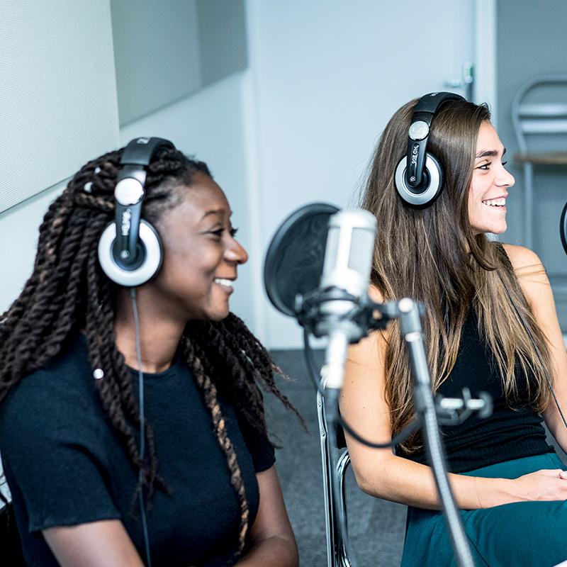 Atelier radio de l'EFJ : animer son émission de radio