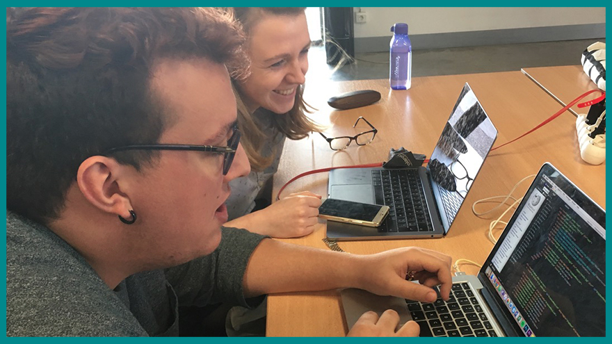 Formation journalisme EFJ - 1ère approche du développement web