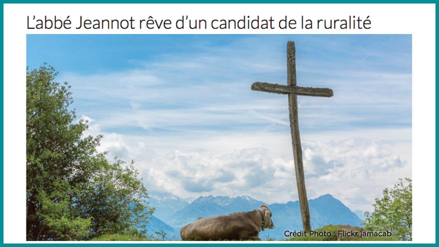 Ecole de journalisme EFJ - L'abbé Jeannot Aqui.fr