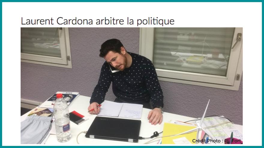 Ecole de journalisme EFJ - Laurent Cardona Aqui.fr