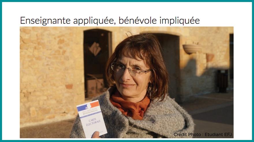 Ecole de journalisme EFJ - Portrait d'une enseignante Aqui.fr