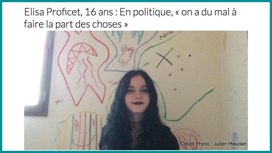Ecole de journalisme EFJ - Faire la part des choses en politique Aqui.fr