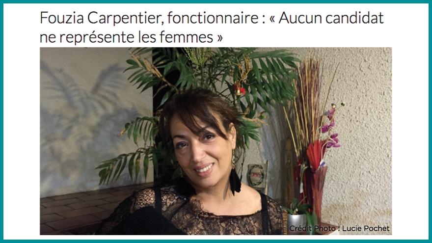 Ecole de journalisme EFJ - Fouzia Carpentier, fonctionnaire Aqui.fr