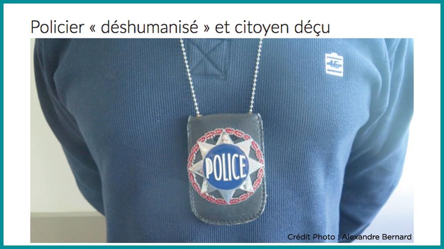 Ecole de journalisme EFJ - Reportage police Aqui.fr