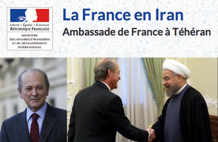 L'école de journalisme EFJ - l'ambassadeur de France en Iran à l'EFJ