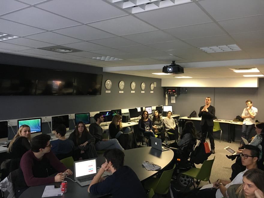 Grégory vient faire Causette - EFJ école de journalisme