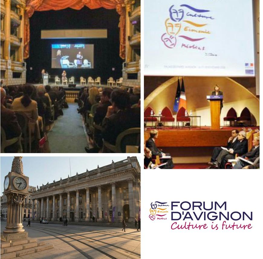 Crédits Forum d'Avignon - Formation journalisme EFJ