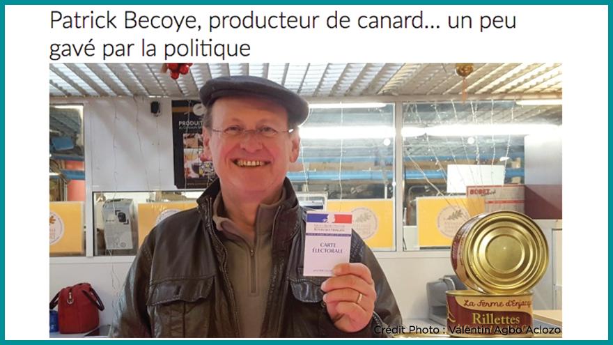 Ecole de journalisme EFJ - Portrait d'Aqui.fr