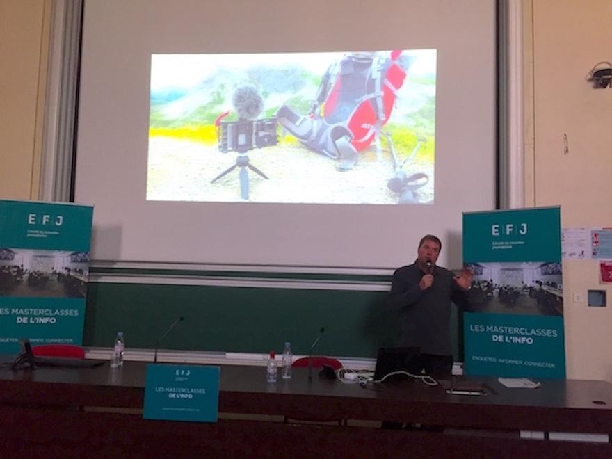 Les études de mobile journalisme à EFJ